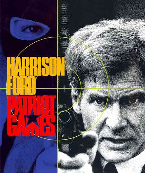 PATRIOT GAMES BY FORD,HARRISON (Blu-Ray)